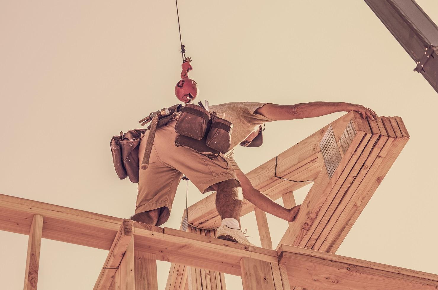 construction et assemblage charpente bois