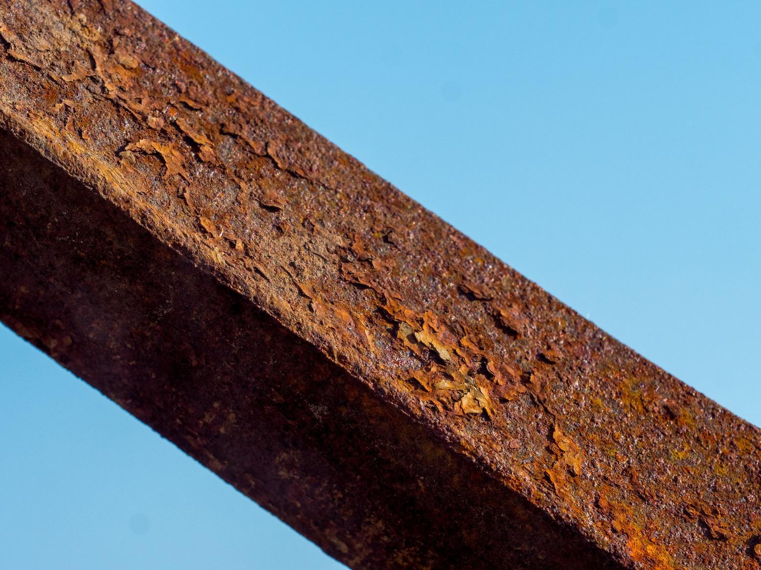 corrosion charpente en acier